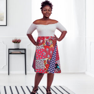 plus size skirt