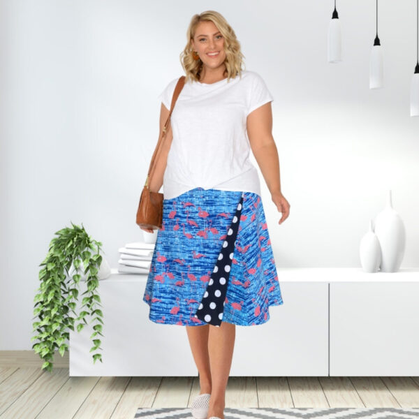 polka dot plus size