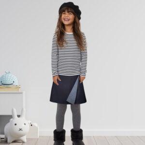 Mia Reversible Wrap Skirt